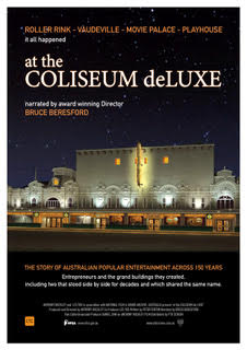 at the COLISEUM deLUXE Special Screening Saturday 16th November with producer Anthony Buckley!